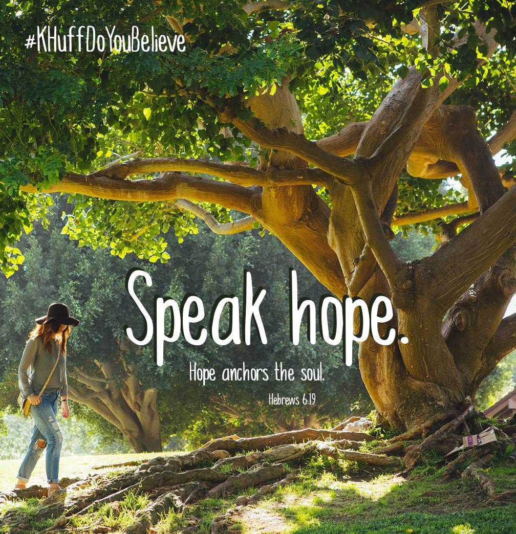 Speak Hope