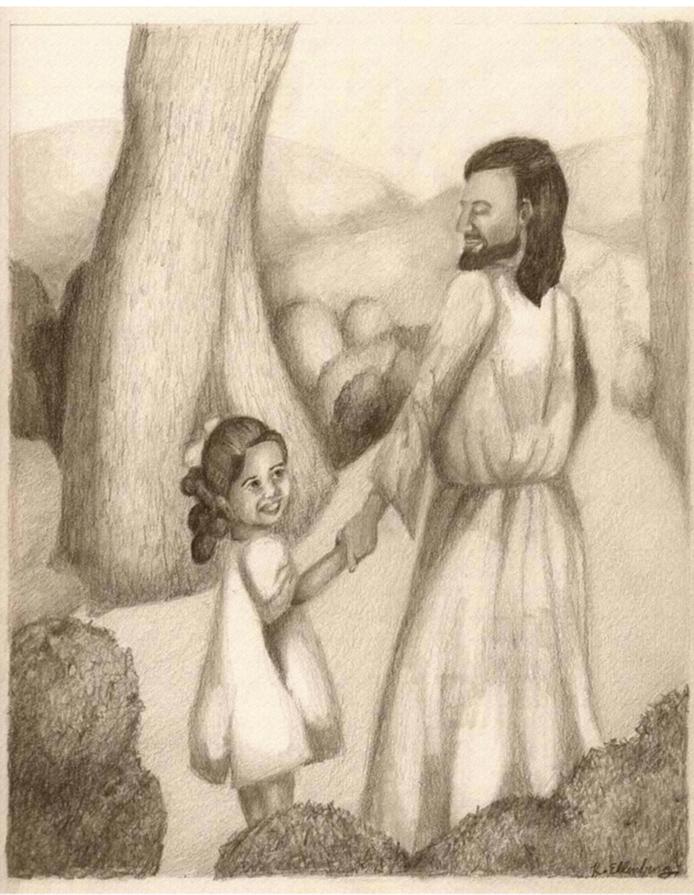 Kristen with Jesus
